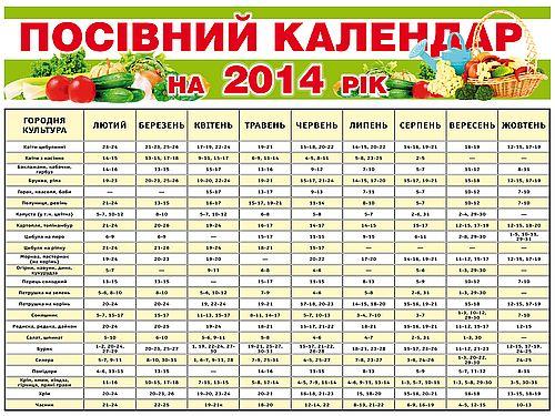 Лунный календарь садовода и огородника на весь год