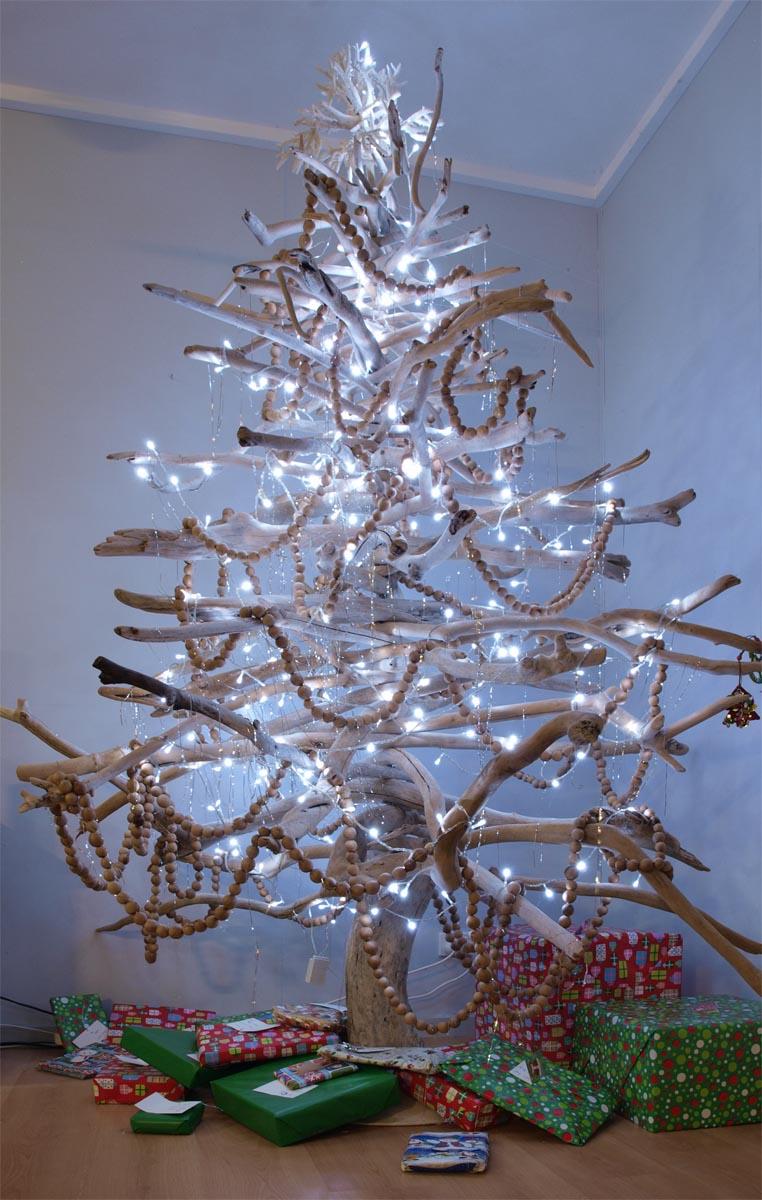 Новогодние украшения.  Как и чем украсить елку. Украшения на елку, игрушки своими руками. Елка своими руками. Необычные елки. 1921_20151223_9299